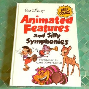 Disney, animated features & Silly symphonies book